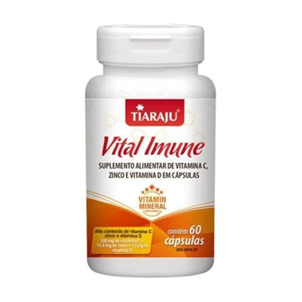 Vital Imune - 60 Cápsulas - Tiaraju
