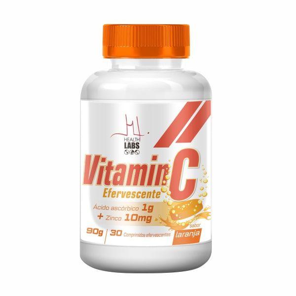 Vitamin C Efervescente - 30 Comprimidos - Health Labs