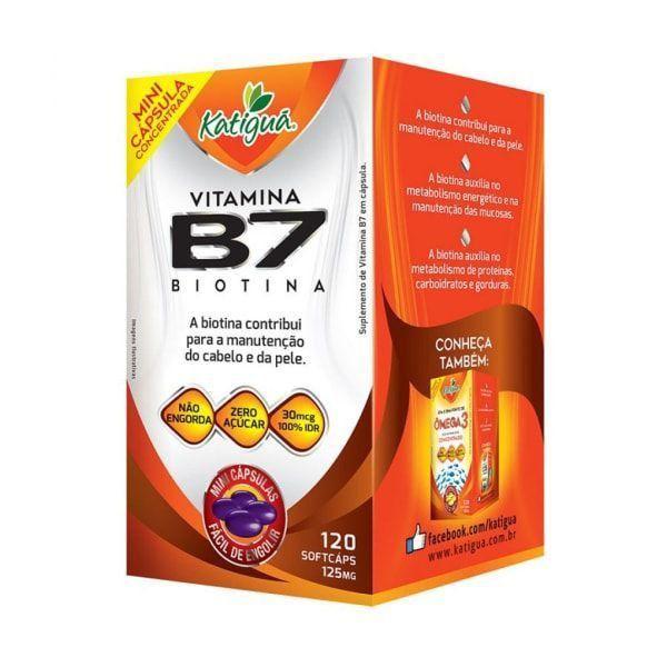 Vitamina B7 (Biotina) - 120 Cápsulas - Katiguá