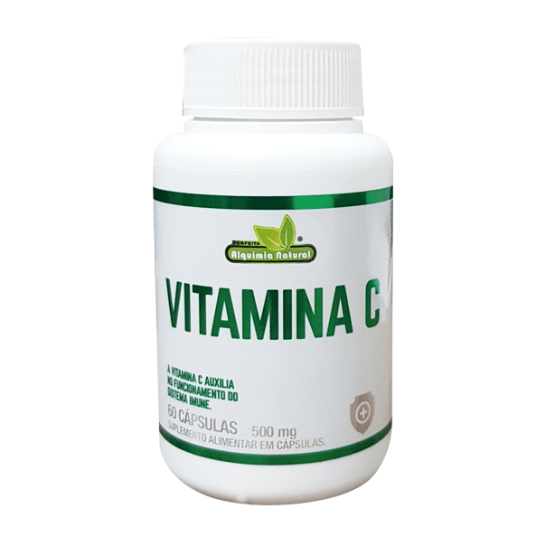Vitamina C - 60 Cápsulas - Alquimia Natural