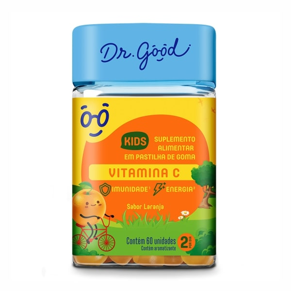 Vitamina C Kids - 60 Unidades - Dr. Good