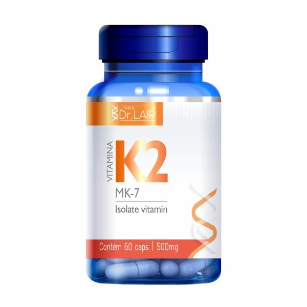 Vitamina K2 (Menaquiona) - 60 Cápsulas - Dr. Lair UpNutri