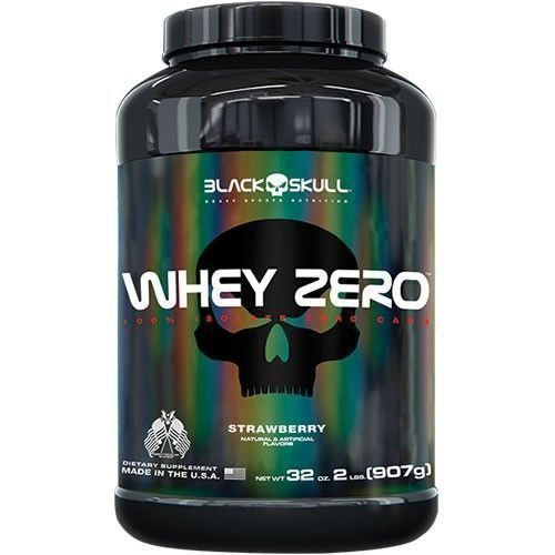 Whey Zero Isolate - 907g(2lbs) - Black Skull