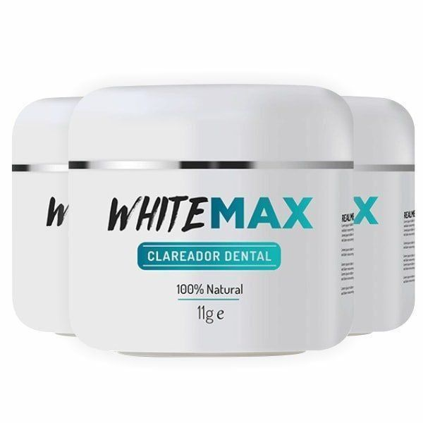 WhiteMax - Promoção 3 Unidades