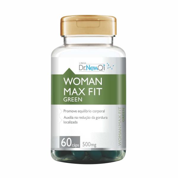 Woman Max Fit Green - 60 Cápsulas - Dr. New QI UpNutri
