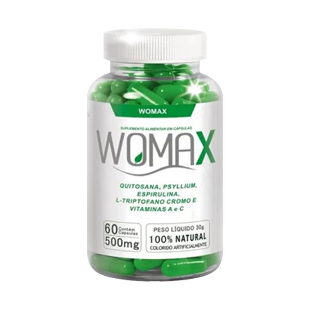 Womax 500mg - 60 Cápsulas