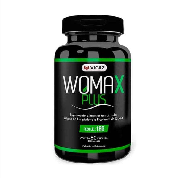 Womax Plus - 60 Cápsulas - Vicaz