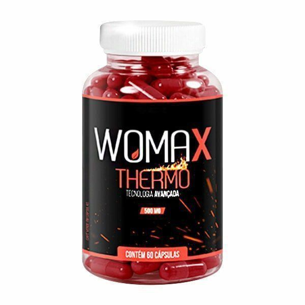 Womax Thermo 500mg - 60 Cápsulas