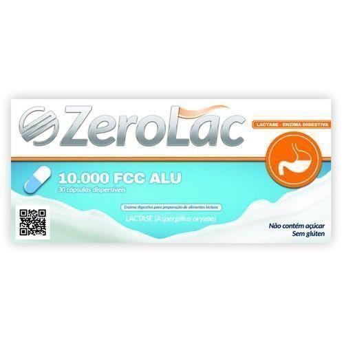Zerolac - 30 Cápsulas - Force do Brasil