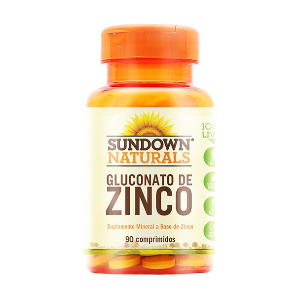 Zinco 7mg - 90 Comprimidos - Sundown