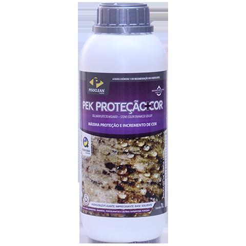 Pek Proteção + Cor 1L - Impermeabilizante, Máxima Proteção Efeito Molhado  - COLAR