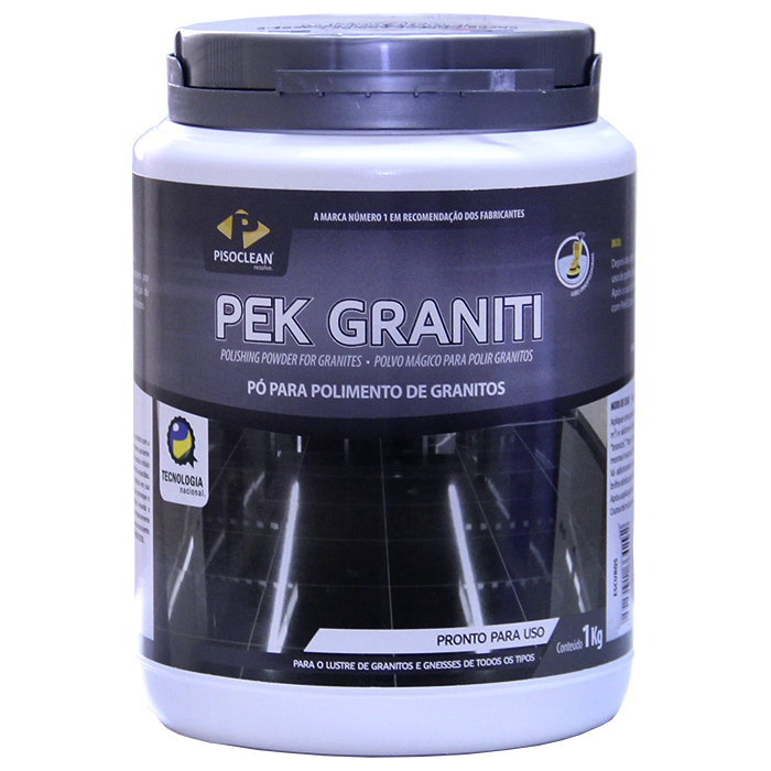 Pek Graniti Claro 1kg - Pó para Polimento de Granitos Claros  - COLAR