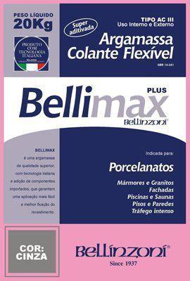 Argamassa Bellimax ACIII Plus 20kg - Bellinzoni  - COLAR