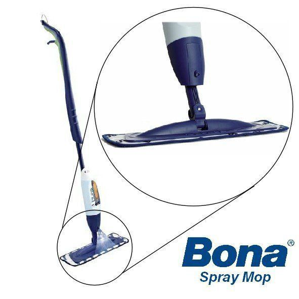 Mop Spray Profissional Microfibra + Detergente - Bona  - COLAR