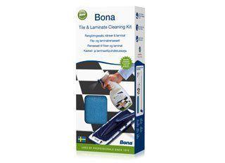 Kit De Limpeza Para Pisos Laminados e Superficies Duras - Bona  - COLAR