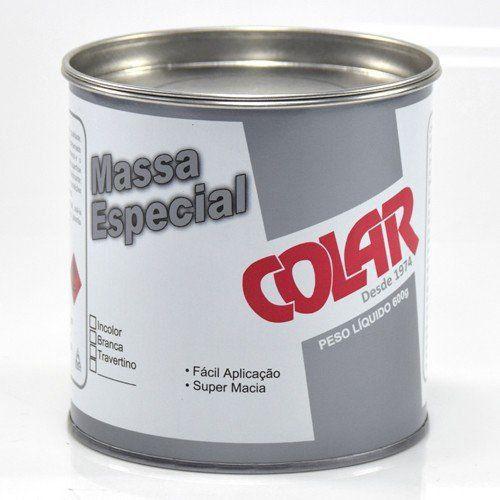 Massa Especial Para Colagem de Pedras Importadas e Industrializadas 600gr - Colar  - COLAR