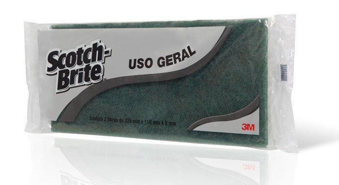 Fibra Para Limpeza Geral Multiuso Pacote com 5  - 3M  - COLAR