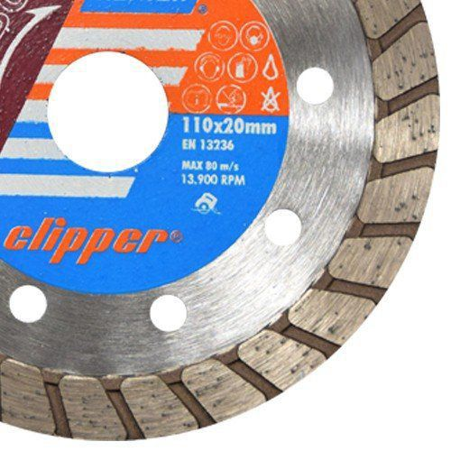 Disco Para Serra Mármore Turbo Clipper - Norton  - COLAR