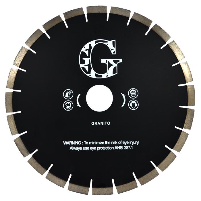 Serra Diamantada para Granitos 350mm - Colar  - COLAR