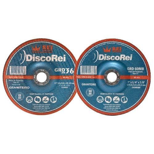 Disco De Desbaste  Rei Graniteiro 180mm   - COLAR
