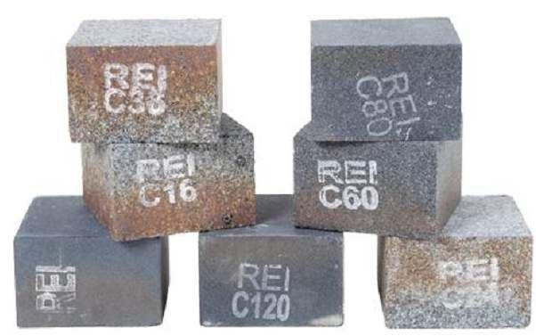Tijolinho Resinado Para Desbaste e Polimento 3x3x2 - Rei  - COLAR