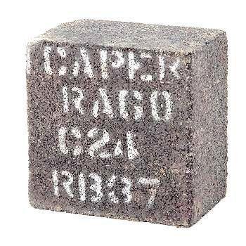 Tijolinho Resinado Para Desbaste e Polimento 3x3x2  - Icaper  - COLAR