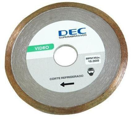 Disco Para Serra Mármore Segmentado Vidro Standard - Dec  - COLAR
