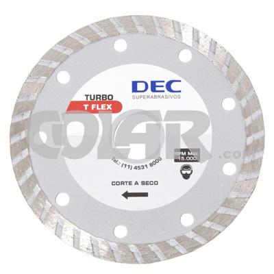 Disco Para Serra Mármore Turbo T-Flex - Dec  - COLAR