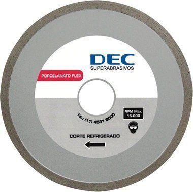 Disco Para Serra Mármore Porcelanato Flex - Dec  - COLAR