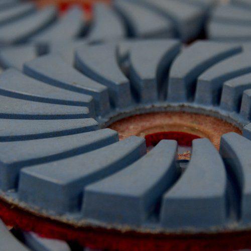 Disco de Polimento Rígido Superflex para Mármores e Granitos 100mm - Colar  - COLAR