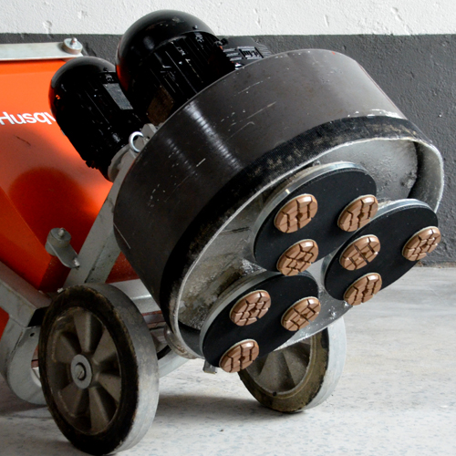 Disco de Desbaste Rígido Para Concreto e Pedras Ornamentais Concrete-Metal LL 75mm - Colar  - COLAR