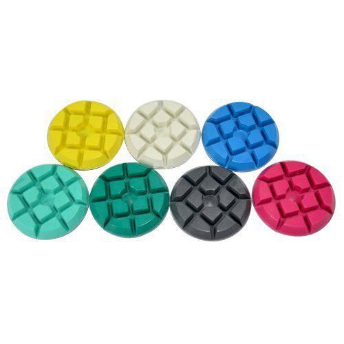 Disco de Polimento Rígido Para Mármores e Granitos Piton 75mm - Colar  - COLAR