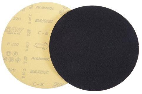 Jogo de Lixa Brilho Com Velcro 6 pçs L04F - Sait  - COLAR