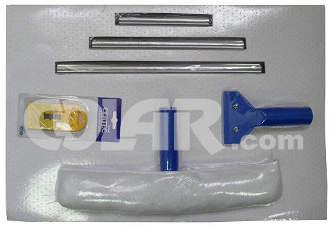 Kit Para Limpeza De Vidro 6 pçs - CT  - COLAR