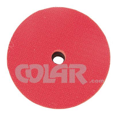 Suporte de Lixa 4 Polegadas (100mm) com Velcro, Espuma e Rosca M14 - DM  - COLAR