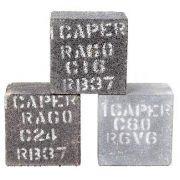 Tijolinho Resinado Para Desbaste e Polimento 3x3x2  - Icaper