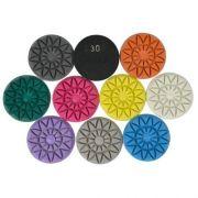 Disco de Polimento Rígido Para Mármores e Granitos Flower 75mm - Colar