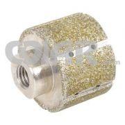 Rebolo Diamantado Cilíndrico Úmido Metálico  GR 46