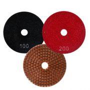 Disco de Desbaste Flexível Colar Para Mármores e Granitos Cobre Superflex 100mm