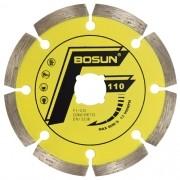 Disco Diamantado Liso Segmentado Concreto F1-CO-C - Bosun