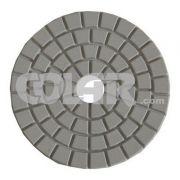 Disco De Polimento Buff Flexível para Mármores e Granitos 100mm - Colar