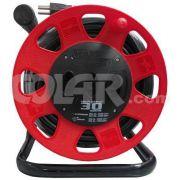 Extensão Maxi 30M Circular Vermelho Cabo 3X2,50