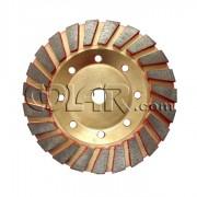 Rebolo Diamantado Vermelho 125mm M14 Para Concreto