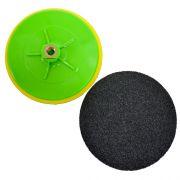 Suporte de Lixa 7 polegadas (180mm) com Velcro e Espuma - Colar