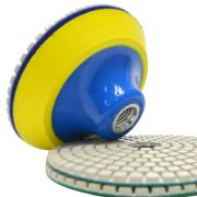 Suporte de Lixa 4 Polegadas (100mm) com Velcro e Espuma - Colar