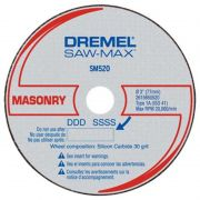 Disco de Corte Para Alvenaria DSM520 3 Unidades - Dremel