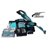 Combo Parafusadeira / Furadeira de Impacto á Bateria DLX2056SY1 - Makita