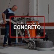 Curso de Restauração e Lapidação de Concreto