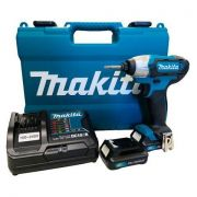 Parafusadeira de Impacto à Bateria TD110DSAE 12V com Encaixe de Makita BIVOLT