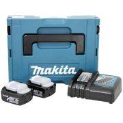 Combo com 2 Baterias e Carregador 127V 196774 0  Makita